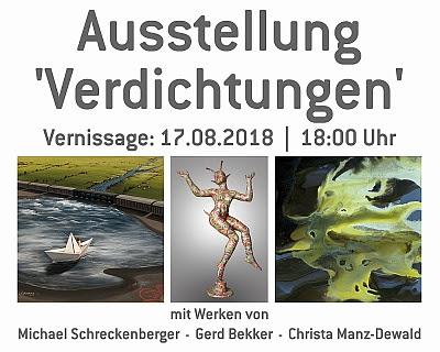 Aktuelle Ausstellungen Michael Schreckenberger